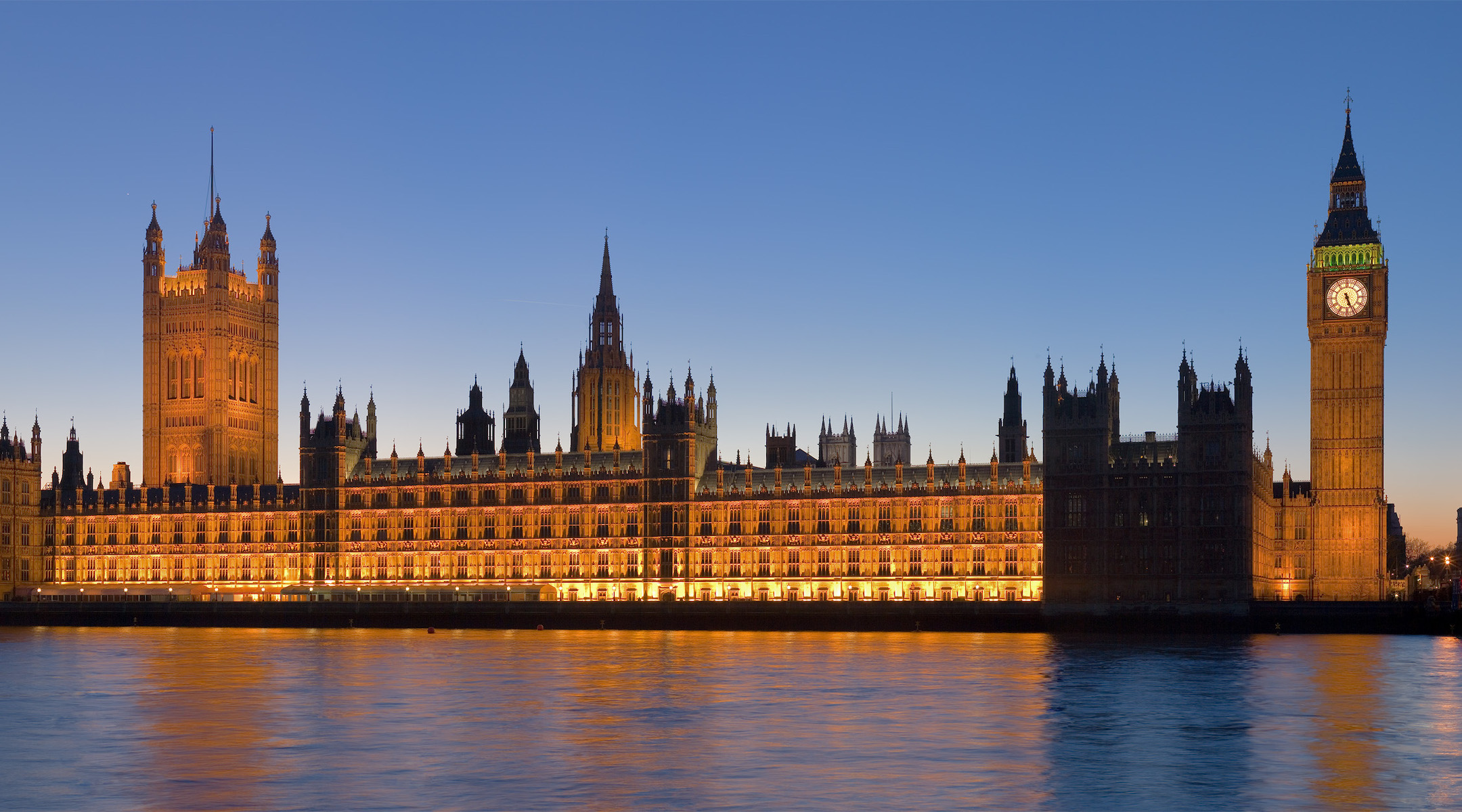 The Palace of Westminster, London. (Wikimedia Commons)