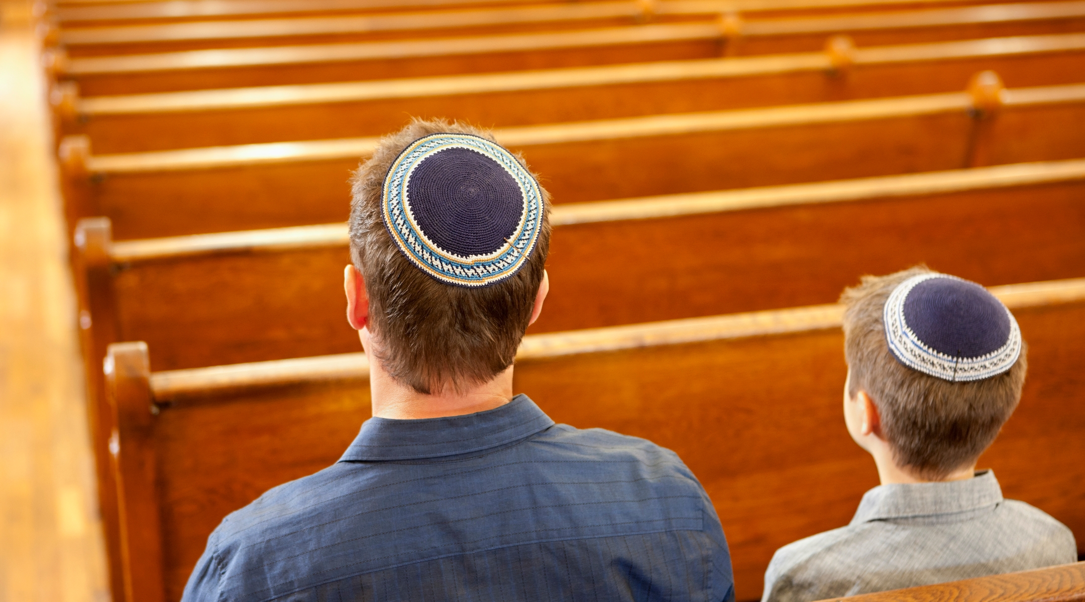 17% of American Jews attended a virtual prayer service last month, compared to half of...