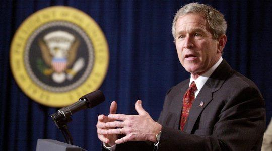 President George W. Bush