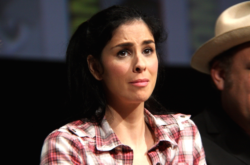 Sarah Silverman speaking at the 2012 San Diego Comic-Con. (Gage Skidmore/Wikimedia Commons)