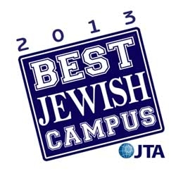 JTA best Jewish campus survey