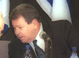 On the Israeli actions near Jenin and Nablus, Defense Minister Benjamin Ben-Eliezer said Israel´s only interest was ´to stop the assembly line of suicide bombers who originate from there.´ (Brian Hendler)