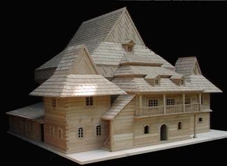The Zabludow Synagogue model. (Courtesy of Handshouse Studio )