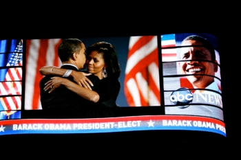 American Jews strongly favored Barack Obama in the Nov. 4, 2008 vote, helping bring him to a sweeping victory.  (Caruba / Creative Commons)