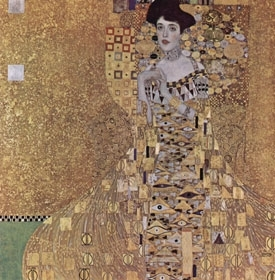 Portrait of Adele Bloch-Bauer by Gustav Klimt. (The Yorck Project)