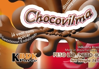 A Brazilian chocolate powder drink that is now certified kosher by a new local agency, Beit Din Kashrut, or BDK. (Vilma Alimentos )