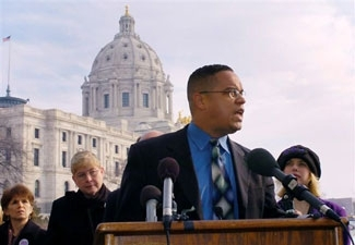 U.S. Rep. Keith Ellison during his run for Congress in 2006. (Ellison for Congress)