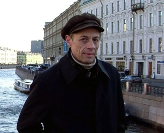 Armenian Jewish composer Willy Weiner on a recent visit to St. Petersburg, Russia. (Courtesy of Willy Weiner)