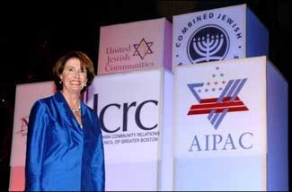 Rep. Nancy Pelosi, expected to be the next Speaker of the U.S. House of Representatives, has strong ties to the Jewish community. (Robert A. Cumins )