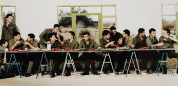 """""""Untitled (The Last Supper),""""  by Adi Nes. (Courtesy of Sotheby's)"""
