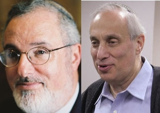 Rabbi Marc Angel, left, is the rabbi emeritus of Congregation Shearith Israel in New York and past president of the Rabbinical Council of America. Rabbi Avraham (Avi) Weiss, right, is the senior rabbi of the Hebrew Institute of Riverdale and a longtime me ()