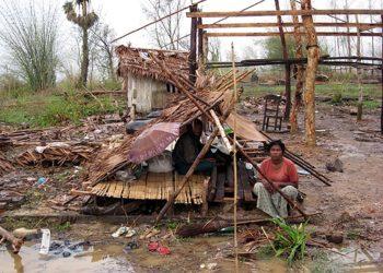 Devastation in Myanmar, May 2008. (Courtesy JDC)