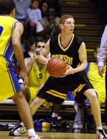 Orthodox basketball player Tamir Goodman. (Towson University Athletic Dept.)