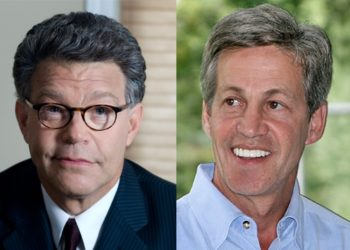 Al Franken, left, and incumbent Norm Coleman are locked in a tight U.S. Senate race in Minnesota with major national implications. (Al Franken for Senate  / Coleman for Senate)