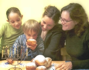 Jews are preparing to celebrate Chanukah in a year made somber by the Sept. 11 attacks and ongoing Mideast violence. (Brian Hendler)