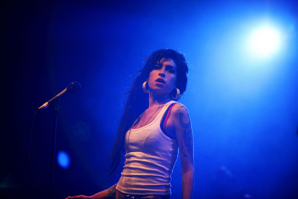 A new investigation of singer Amy Winehouse's death confirmed that she died of accidental alcohol poisoning.  (Creative Commons)