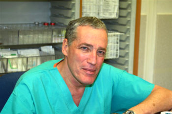 Avraham Rivkind, the chief of surgery at Hadassah Medical Center in Jerusalem, has pioneered several medical techniques, including several that helped save victims of the Boston Marathon attacks.  (Hadassah Medical Center)