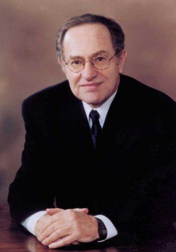 Alan Dershowitz.  (Courtesy of Harvard Law School)