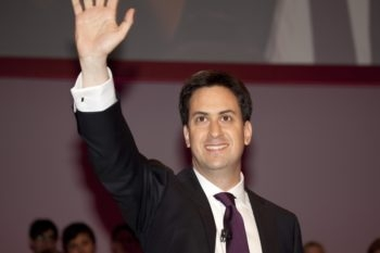 Ed Miliband, the new leader of the British Labor Party.  (Courtesy Labor Party )