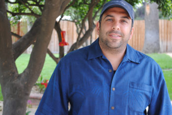 Private investigator Eric Agaki says he is especially proud of his role in uncovering the fraudulent practices of the Doheny Glatt Kosher Meat Market in Los Angeles.  (Rebecca Spence)