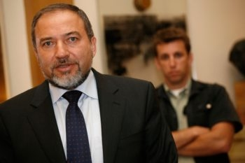 A bill favored by Yisrael Beiteinu leader Avigdor Lieberman mandating a loyalty oath as a condition of Israeli citizenship stalled in the Cabinet on May 31, 2009. (Miriam Alster/Flash90/JTA)