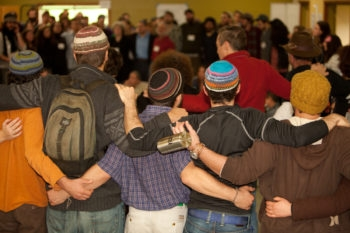 Participants gathered in Dec. 2010 for a Hazon food conference in Sonoma County, Calif.  (Courtesy of Hazon)