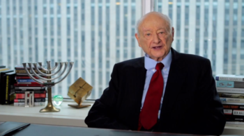 Even in his late 80s, political endorsements from Ed Koch, who served as New York City's mayor from 1978 to 1989, were prized. He appeared in this 2012 video supporting President Obama's bid for reelection.  (Obama Campaign/YouTube)