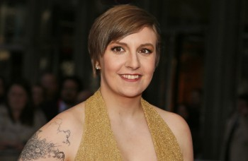 "Lena Dunham arriving at the red carpet of the ""Time 100 Most Influential People in the World"" Gala, April 23, 2013"