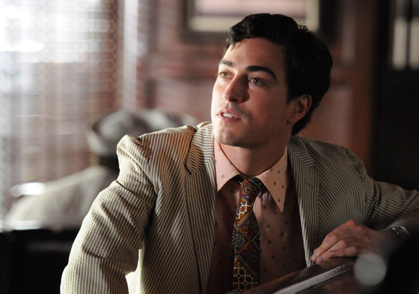 "Michael Ginsberg, played by Ben Feldman, is the new Jewish copywriter on the AMC award-winning show ""Mad Men.""  (Michael Yarish/AMC)"