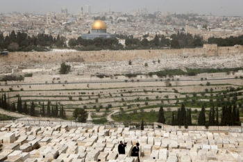 Mordechai Levy disappeared in 1948, and it wasn't until 64 years later that his resting place was identified on Jerusalem's Mount of Olives, pictured here. (Uri Lenz/FLASH90 )