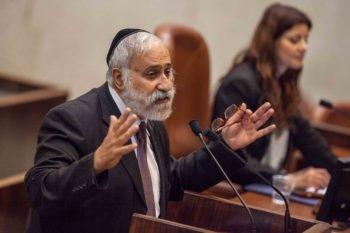 "Shas lawmaker Nissim Zeev, shown during a plenum session in the Israeli Knesset on June 11, 2012, is demanding a public debate on abortion, which he has said publicly is akin to ""murder."" ( (Uri Lenz/FLASH90)"