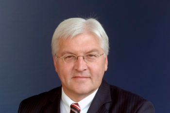 German Foreign Minister Frank-Walter Steinmeier: Removing the Mideast conflict from the draft Durban II resolution was not enough to ensure European attendance at the conference. (German Foreign Ministry)