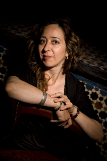 Vanessa Paloma, a singer and scholar, is now living in Morocco, where she can find out more about her past. (Peter Svarzbein)