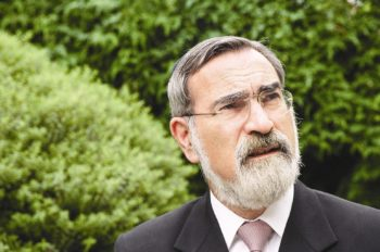 Jewish leaders in Britain have outlined the process they will follow in seeking to identify a successor to the current chief rabbi, Lord Jonathan Sacks.  (Office of the Chief Rabbi)