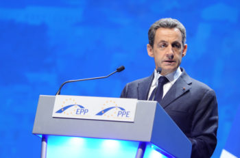 France President Nicolas Sarkozy, shown here speaking at the European People's Party conference in Marseille on Dec. 8, 2011, has announced several measures to clamp down on right-wing and Islamic extremists following the March 19 attack on  on the Ozar Hatorah Jewish school in Toulouse.  (European People's Party via CC)