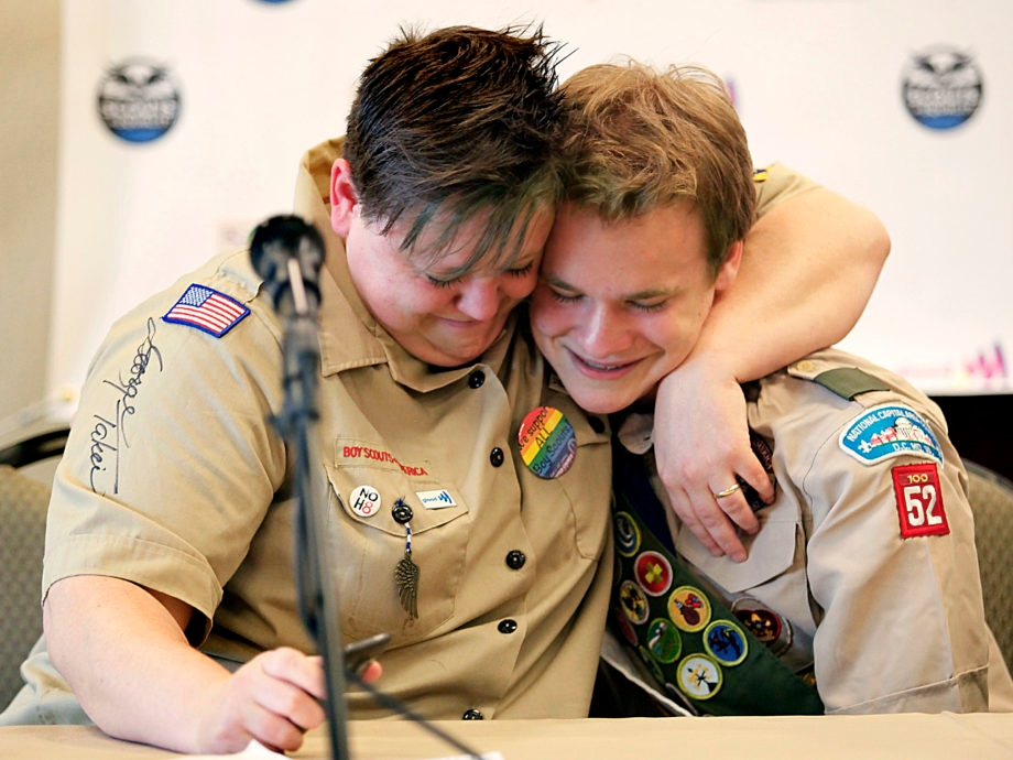 Gay scouts, jewish scouts