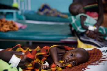 The famine in Somalia is getting worse, rights groups say.  (UNICEF)