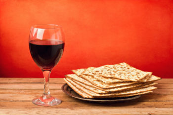 Wine is as integral a part of the Passover seder as matzah, but for alcoholics this can pose a serious problem.  (Shutterstock)