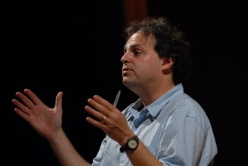 """Ari Roth has faced criticism for holding a reading of """"Seven Jewish Children: A Play for Gaza"""" at Theater J at the Washington D.C. Jewish Community Center. (Sam Barouh)"""