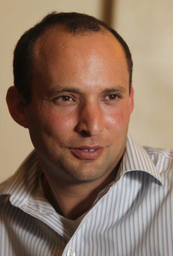 Naftali Bennett, CEO of the Yesha Council. (Yossi Zamir / Flash90)