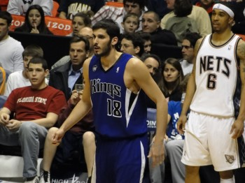 Omri Casspi, the first Israeli to play in the NBA, has been traded to the Cleveland Cavaliers by the Sacramento Kings. (Chamber of Fear via CC)