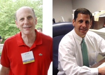 Steven Altman, left, and brother Daniel Altman, who ran a real estate group founded more than 50 years ago by their father, were well esteemed in the business and Jewish communities. (Jewish Exponent)