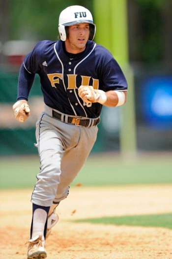 Garrett Wittels, a sophomore at Florida International University, finished the 2010 season with a 56-game hitting streak.  (Courtesy of FIU)