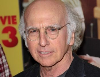 "Larry David at a the premiere of ""Movie 43"" in Los Angeles, January 2013. (Andrew Evans / PR Photos)"
