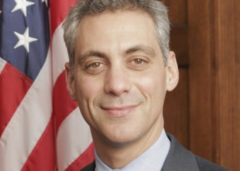 """Rahm Emanuel's closeness to the Jewish community was seen """"a tiny factor, if at all"""" in his hiring as Barack Obama's chief of staff. (U.S. Congress)"""