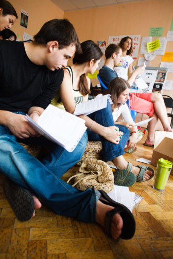 More then 6,000 young Russian-speaking Jews are participating in The Jewish Agency's summer camp programs in the former Soviet Union.  (Courtesy The Jewish Agency)