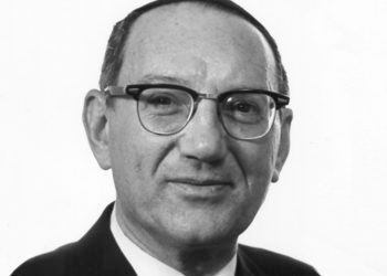 """Rabbi Emanuel Rackman, shown in an undated photo, was called a """"remarkable human being and a remarkable Jew"""" by Rabbi Norman Lamm. (Yeshiva University)"""