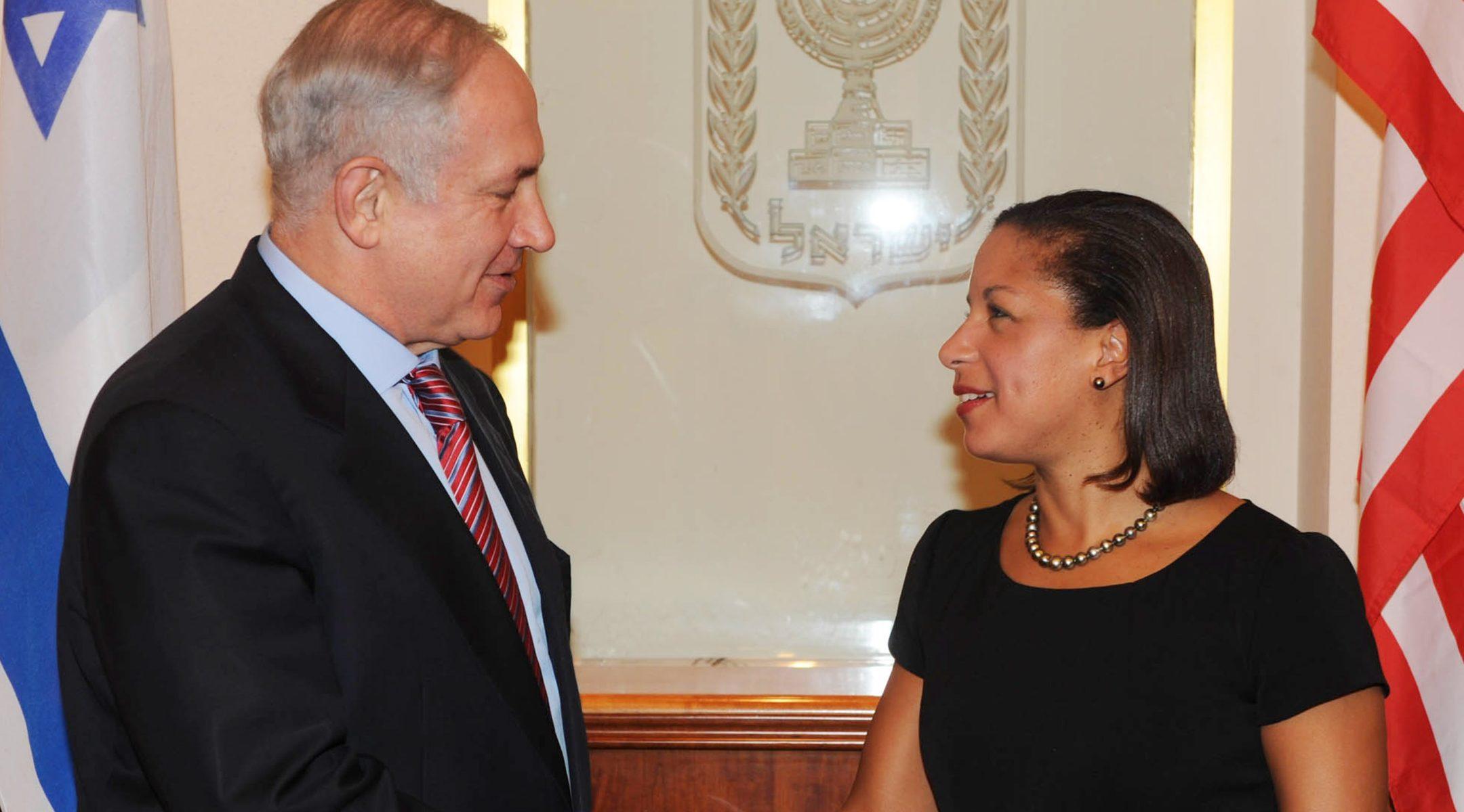 Susan Rice, Susan Rice Israel, Susan Rice Netanyahu