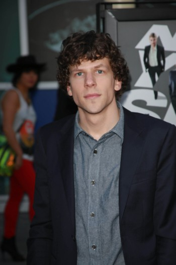 "Jesse Eisenberg attending the ""Now You See Me"" Los Angeles Premiere, May 2013. (Andrew Evans / PR Photos)"