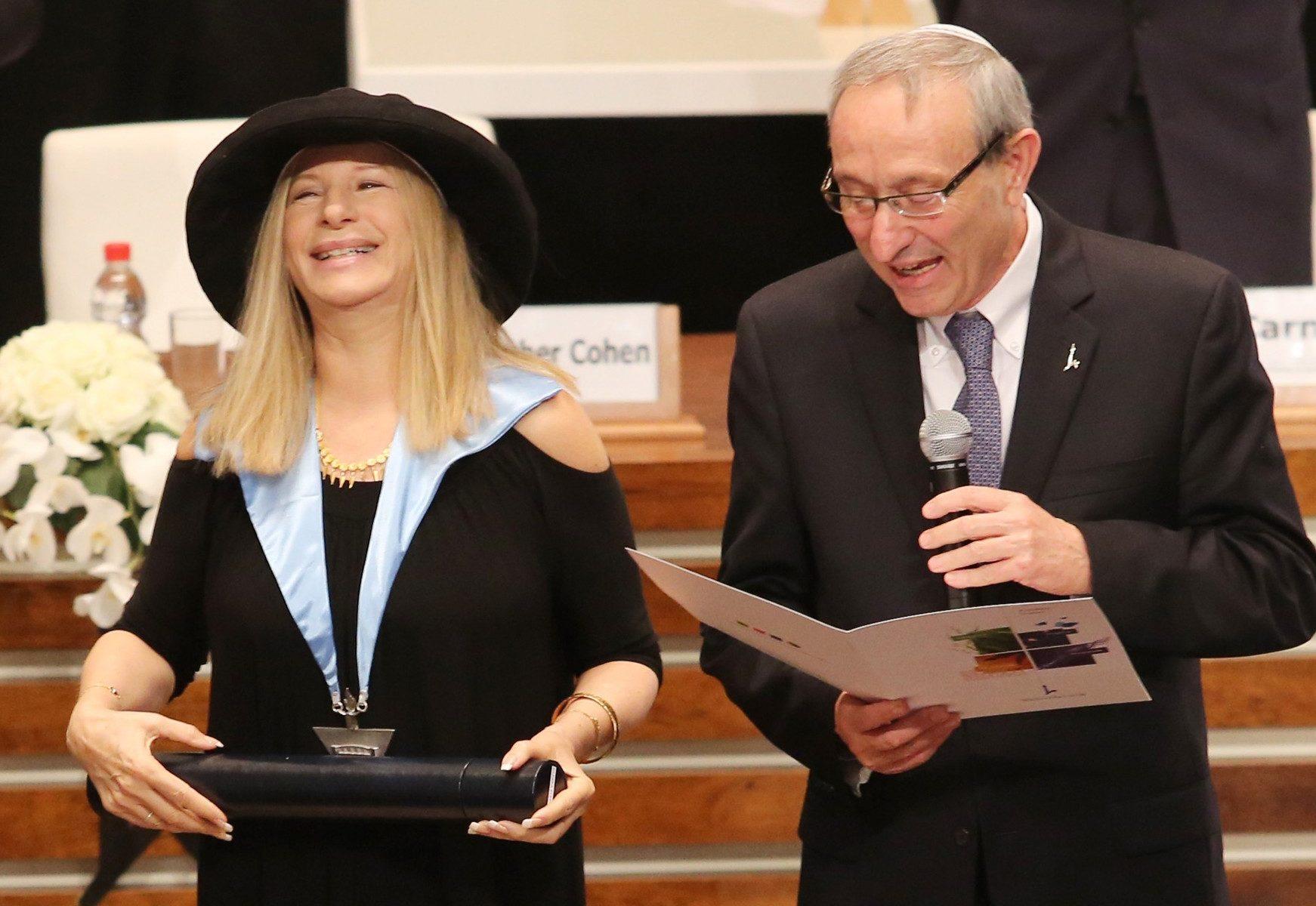 Barbra Streisand, Barbra Israel, Barbra Hebrew University